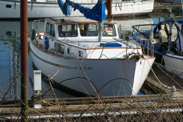 Blanchard Pilothouse Motorsailer 1964 Boats for Sale & Yachts