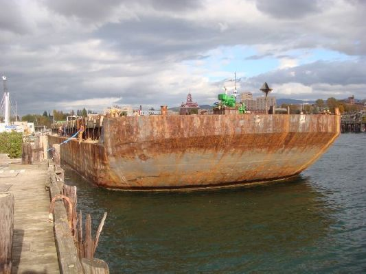 Coastal Deck Barge Raked Ends DWT 4500 1965 All Boats