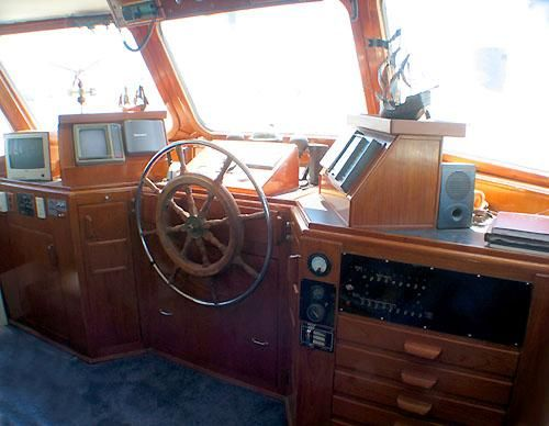 Boats for Sale & Yachts Custom Steel Pilothouse LRC 1965 Pilothouse Boats for Sale