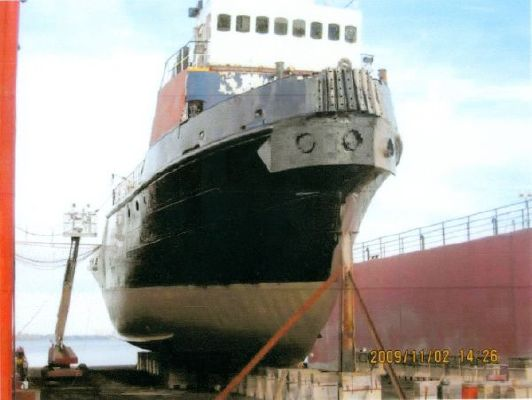 1m x 9.48m x 3.75m Steel 2520HP Twin Screw Tugboat Built in England 1967 35. Tug Boats for Sale