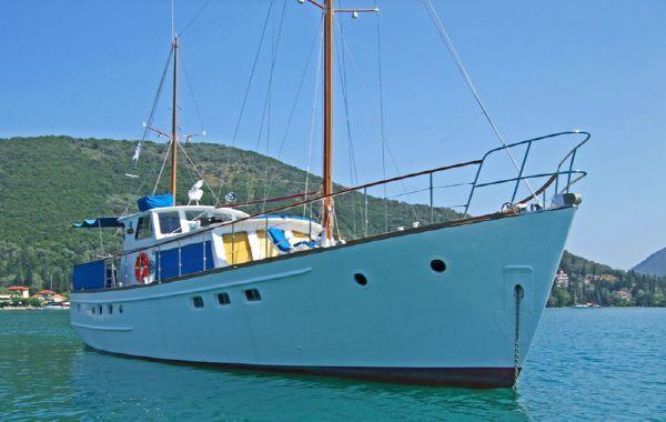 Dagless Fleur de Lys 58 ft Ketch rigged MY 1967 1967 Ketch Boats for Sale