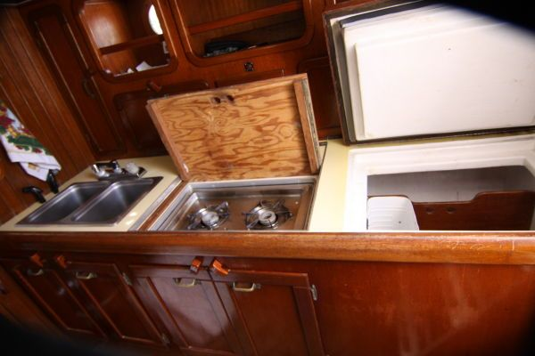 Motorsailer Repowered 45 hp Diesel 1967 Sailboats for Sale