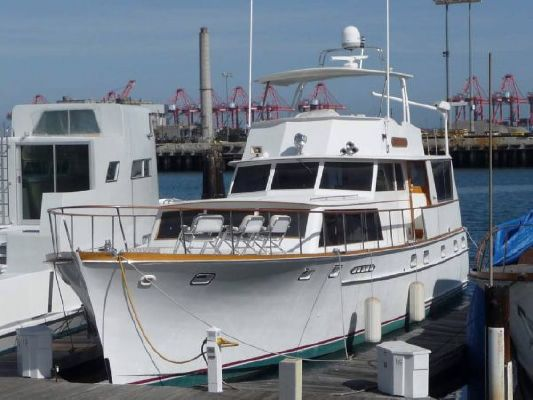 Boats for Sale & Yachts Stephens Flush Deck Flybridge M.Y. 1968 Flybridge Boats for Sale