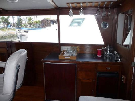 Stephens Flush Deck Flybridge M.Y. 1968 Flybridge Boats for Sale