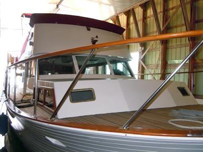 Monk McQueen Flybridge Motor Yacht 1969 Flybridge Boats for Sale