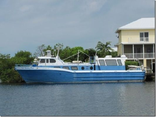 Breaux Bay Craft Crew Boat For Sale