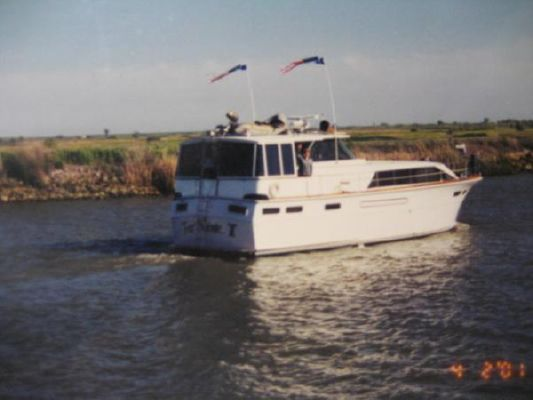 Boats for Sale & Yachts Concorde 47' Enclosed Bridge 1970 All Boats