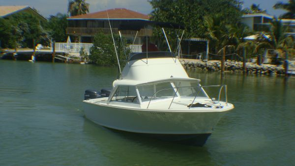 1971 Bertram Convertible Outboard Convertible Boats