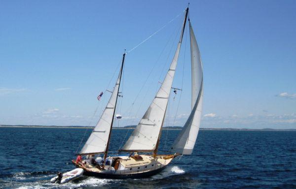 Boats for Sale & Yachts Sam Crocker / Brooklin Boat Yard Keel / Centerboard Ketch 1971 Ketch Boats for Sale