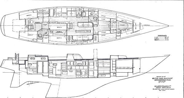 Palmer Johnson Sloop 1972 Sloop Boats For Sale