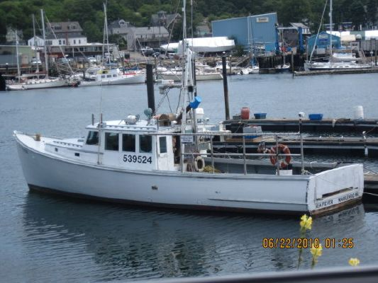 Sonny Hodgdon Custom Built Offshore Lobster Boat 1972 Lobster Boats for Sale