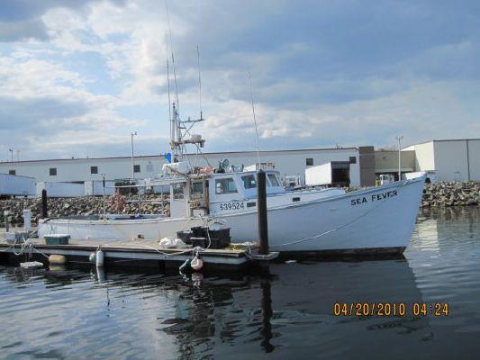 1972 Sonny Hodgdon Custom Built Offshore Lobster Boat