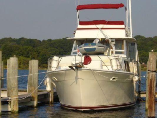Pacemaker Flybridge Motor Yacht 1973 All Boats Flybridge Boats for Sale