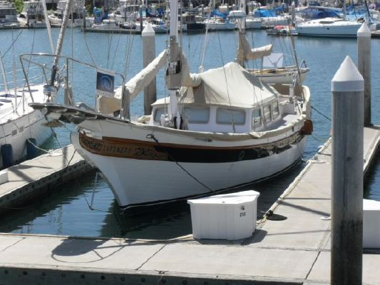 1973 william garden design ketch boats yachts for sale for William garden boat designs