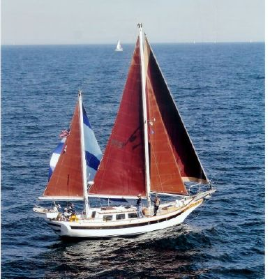 1973 william garden design ketch boats yachts for sale for Garden design troller boat