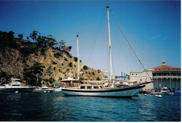 1973 william garden design ketch boats yachts for sale for Bill garden designs