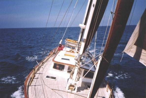 1973 william garden design ketch boats yachts for sale for William garden sailboat designs