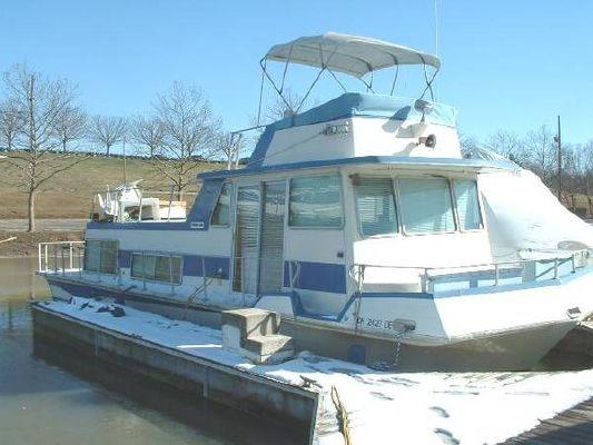 Boats for Sale & Yachts NAUTALINE Flybridge Houseboat 1974 Houseboats for Sale