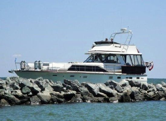 1974 trojan fly bridge motor yacht  1 1974 Trojan Fly Bridge Motor Yacht