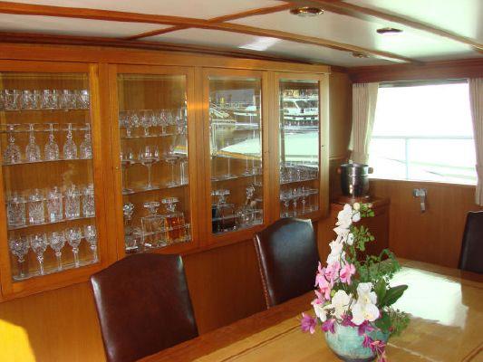 Burger Raised Pilothouse Cockpit M/Y 1975 Pilothouse Boats for Sale