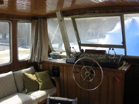 1975 Burns Craft Houseboat Boats Yachts For Sale