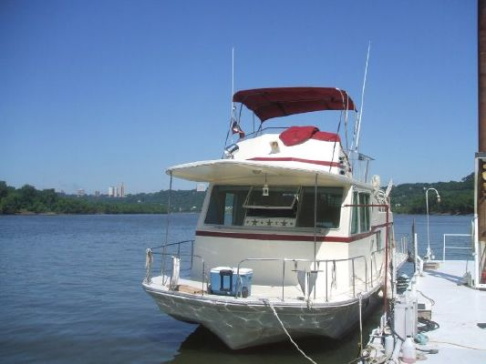 Boats for Sale & Yachts Burns Craft Standard Flybridge 1975 Flybridge Boats for Sale