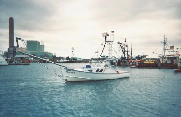 1975 Downeast Tuna Sportfish By Repco Boat