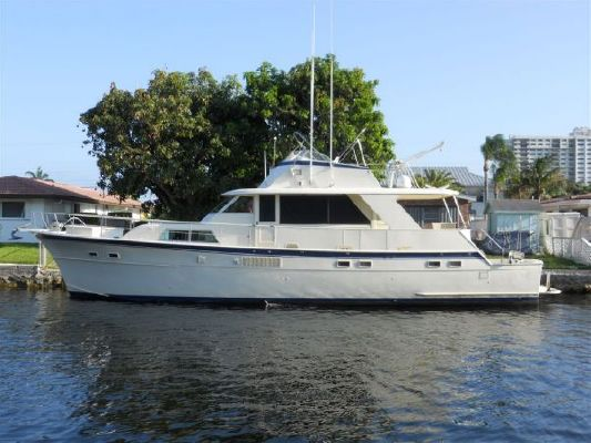 Hatteras 1975 Yacht Fisherman 1975 Hatteras Boats for Sale