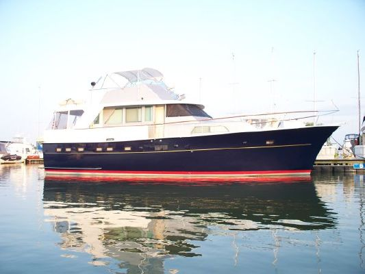 1975 Hatteras 53 Motor Yacht Boats Yachts For Sale