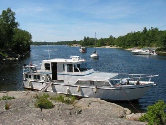 1976 45 steel custom trawler  1 1976 45 Steel Custom Trawler
