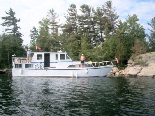 1976 45 steel custom trawler  2 1976 45 Steel Custom Trawler