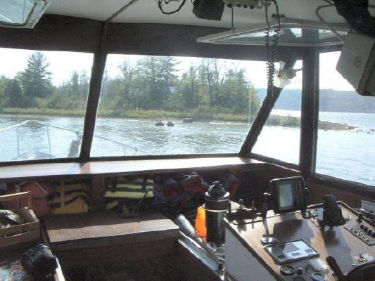 1976 45 steel custom trawler  4 1976 45 Steel Custom Trawler