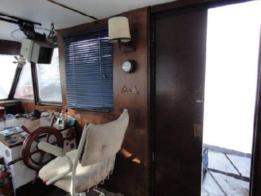 1976 45 steel custom trawler  5 1976 45 Steel Custom Trawler