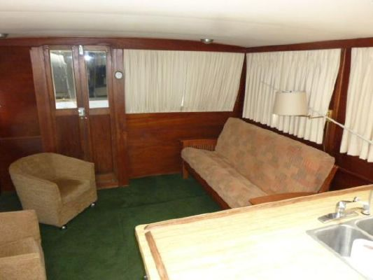 Trojan Pilothouse Trawler 1976 Pilothouse Boats for Sale
