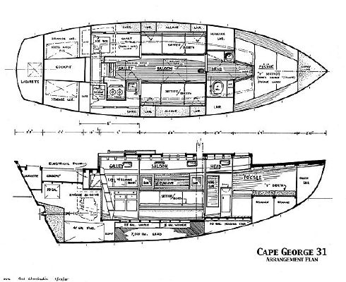 1977 cape george cutter 14 1977 Cape George Cutter