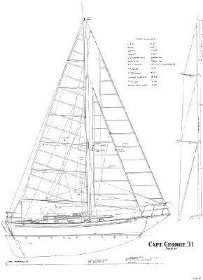 1977 cape george cutter 5 1977 Cape George Cutter