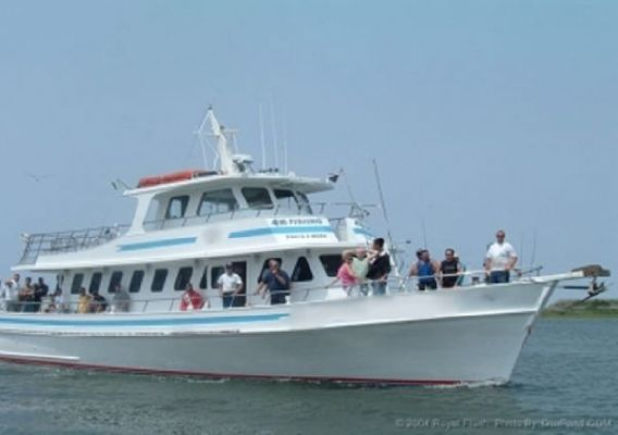 1977 gillikin charter party passenger fishing boat boats for Fishing yachts for sale