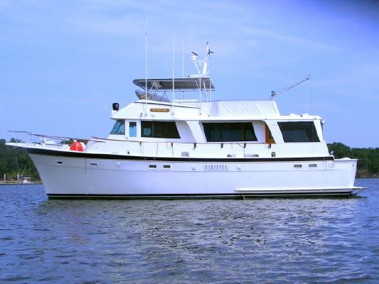 Hatteras Long Range Cruiser 1977 Hatteras Boats for Sale