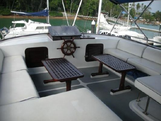 Hatterous Style Timber Motor Yacht 1977 All Boats