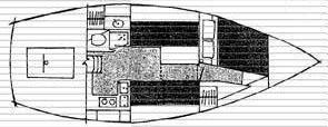 1978 bombay clipper shoal draft  11 1978 Bombay Clipper Shoal Draft