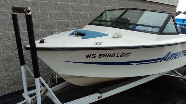 American Skier Boat model of 1976 #2