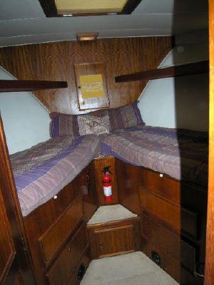 Hatteras LRC Cockpit Motoryacht LRC 1978 Hatteras Boats for Sale
