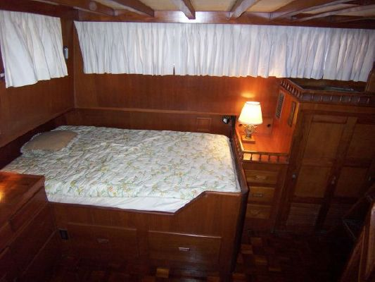 Marine Trader 44' Double Cabin Trawler 1978 Trawler Boats for Sale