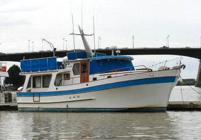Puget Trawler Pilothouse 1978 Pilothouse Boats for Sale