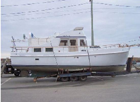 Wood/Fiberglass Lachance Trawler/Yacht 1978 Trawler Boats for Sale