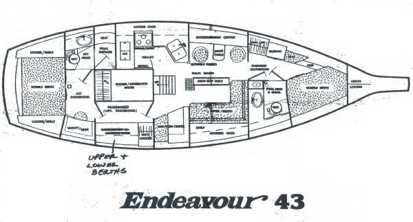 Endeavour 43 1979 All Boats