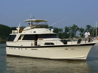 1979 hatteras classic motor yacht boats yachts for sale for Vintage motor yachts for sale