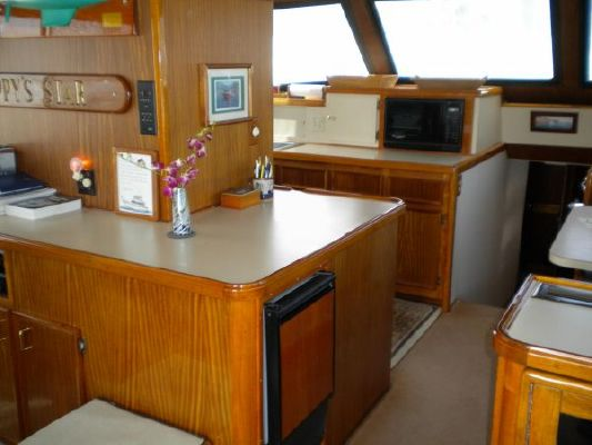 Hatteras Enclosed Bridge 1979 Hatteras Boats for Sale