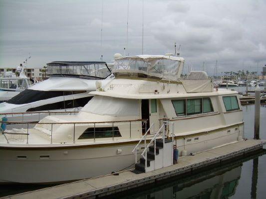 Hatteras Flush deck Commercial Motor Yacht 1979 Commercial Boats for Sale Hatteras Boats for Sale