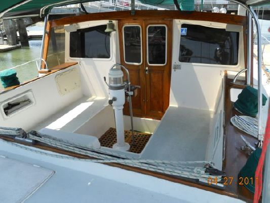 1979 mariner pilothouse motorsailer 50  17 1979 Mariner Pilothouse Motorsailer 50